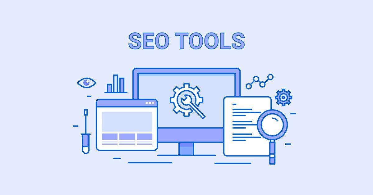 SEO tools concept