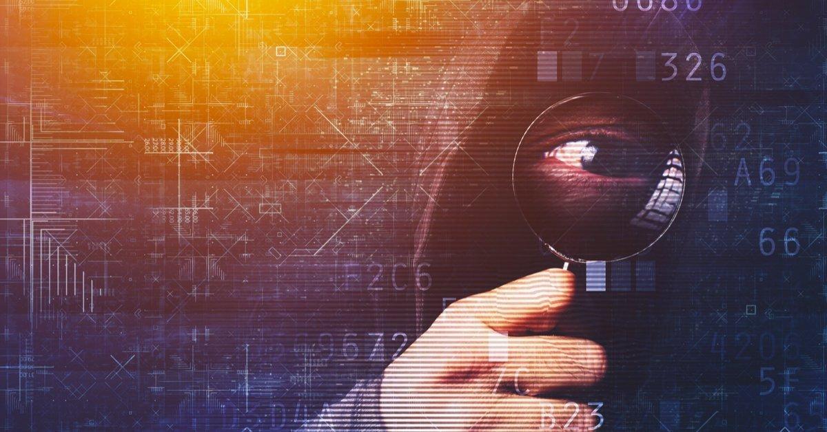 Eye inspecting code