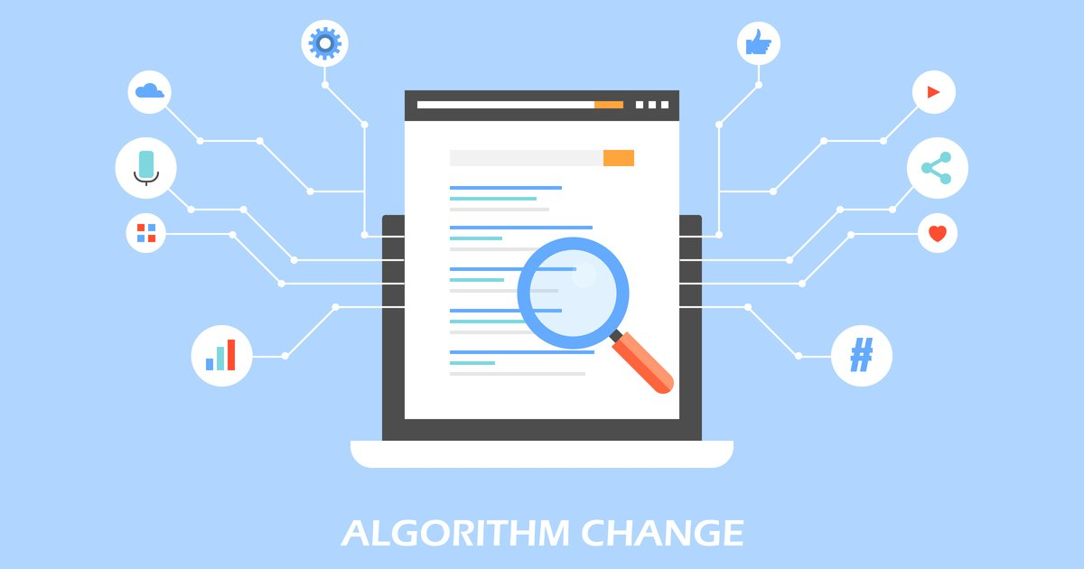 Search algorithm change