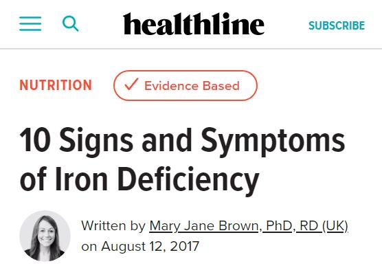 Healthline trustworthy byline