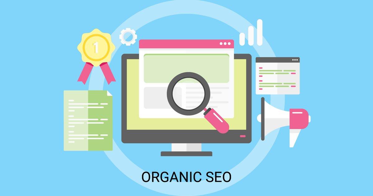 Organic search concept