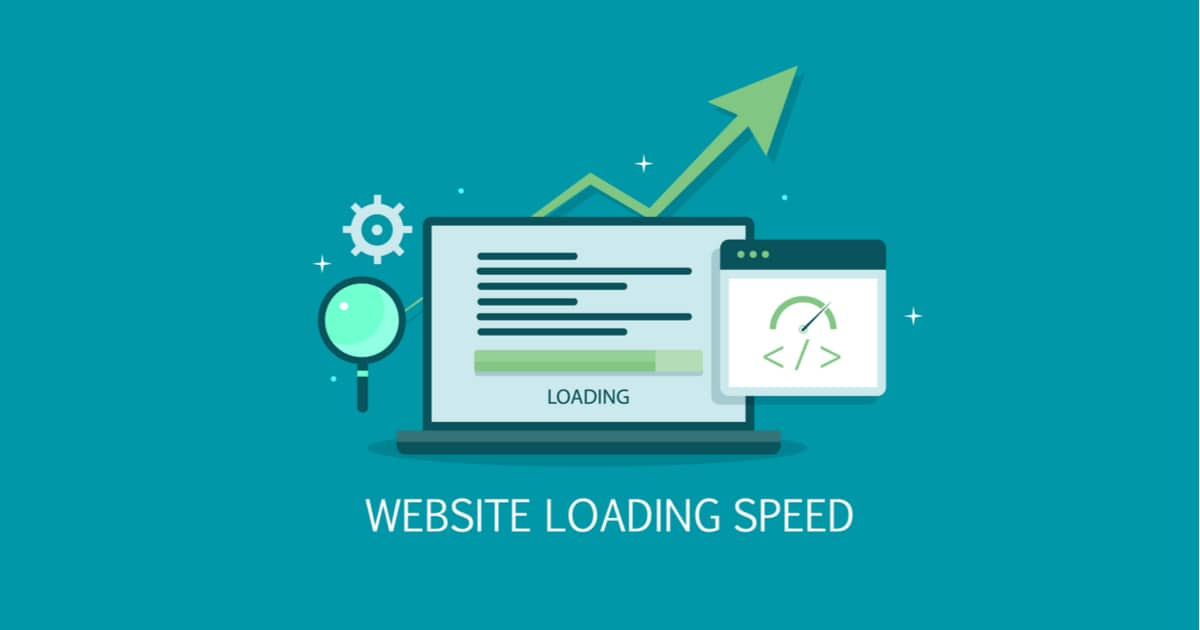 Fast loading website