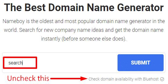Nameboy enter keyword